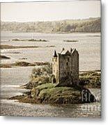 Stalker Castle Vintage Metal Print