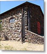 Stallion Barn At Historic Jack London Ranch In Glen Ellen Sonoma California 5d24580 Metal Print by Wingsdomain Art and Photography