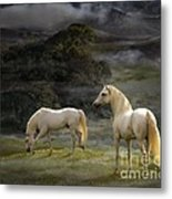 Stallions Of The Gods Metal Print