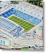Stamford Bridge Stadia Art - Chelsea Fc Metal Print