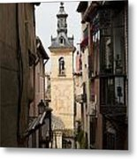 Stamped Bell Tower Metal Print