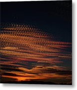 Stamped Sky Metal Print by Rod Sterling
