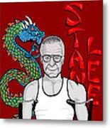 Stan Lee Metal Print by Gary Niles