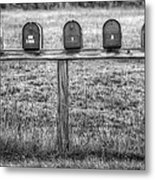 Stand Out From The Crowd Metal Print