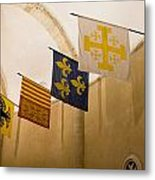 Standards Of The Knights Of The Templar Metal Print