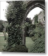 Standing Arch Metal Print