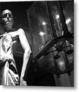 Standing Guard On Rodeo Drive Metal Print