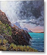 Standing On The Solid Rock Metal Print