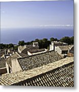 Standing On Top Of The World Metal Print