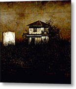 Standing Out Metal Print