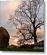 Standing Stones, England Metal Print