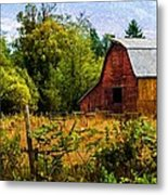 Standing The Test Of Time Metal Print