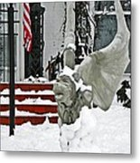 Standing Watch  Metal Print by Chris Berry