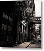 Staple Street - Tribeca - New York City Metal Print by Vivienne Gucwa