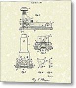 Stapler 1932 Patent Art Metal Print