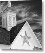 Star Barn Star Metal Print