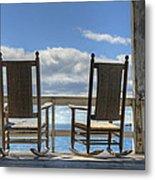 Star Island Rocking Chairs Metal Print