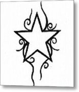 Star Metal Print