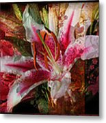 Star Lilly Metal Print