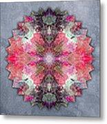 Star Mandala B Metal Print