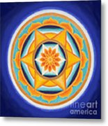 Star Of Energy Metal Print