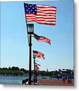 Star Spangled Banner Flags In Baltimore Metal Print