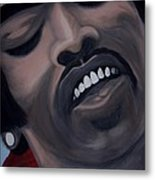 Star Spangled Jimi Metal Print