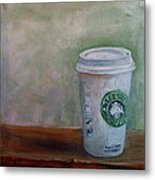 Starbucks Coffee Metal Print
