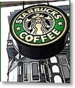 Starbucks Logo Metal Print