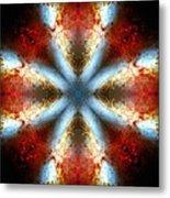 Starburst Galaxy M82 V Metal Print