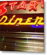 Stardust Diner - New York City Metal Print