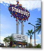 Stardust Sign Metal Print