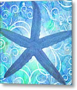 Starfish By Jan Marvin Metal Print