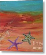 Starfish Metal Print by PainterArtist FIN