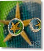 Starfish Refraction Metal Print