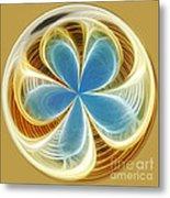 Starfish To Flower - Orb 2 Metal Print