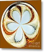 Starfish To Flower - Orb Metal Print