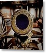 Staring Down The Barrel Of A Canon Metal Print