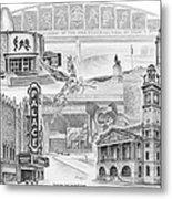 Stark County Ohio Print - Canton Lives Metal Print