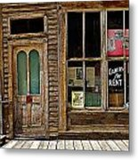 Stark Store And Hotel - Ep Metal Print