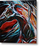 Starlight Run Metal Print by Laurie Pace