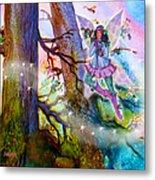 Starr Lynn Holly Berry Fairy Metal Print