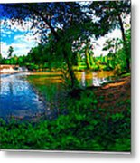Starrs Mill 360 Panorama Metal Print by Lar Matre