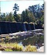 Starrs Mill Waterfall  Metal Print by Jake Hartz