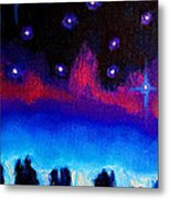 Starry Night In Exeter Metal Print