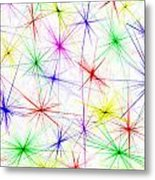 Stars Are The Flowers Of Heaven Metal Print