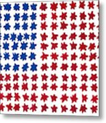 Stars No Stripes Metal Print