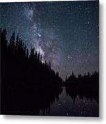 Stars On The Lake Metal Print