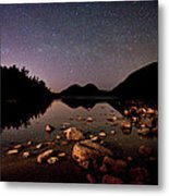 Stars Over The Bubbles Metal Print by Brent L Ander