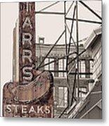 Stars Steaks Frys And Burgers Metal Print
